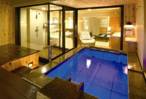 露天風呂付き客室のある旅館 宝生閣
